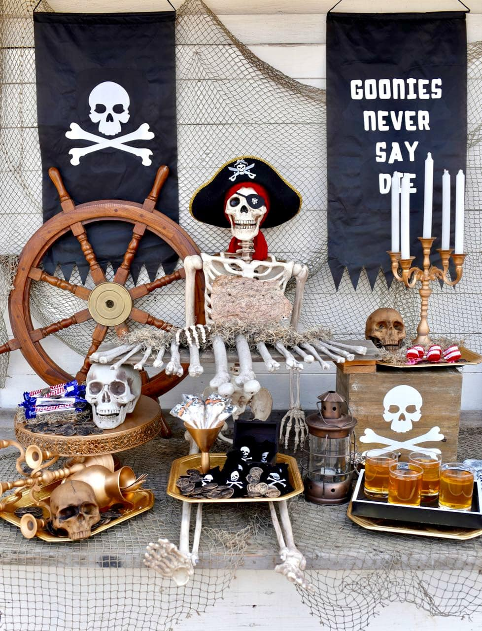 Goonies Halloween Party and Cricut Maker Oriental Trading