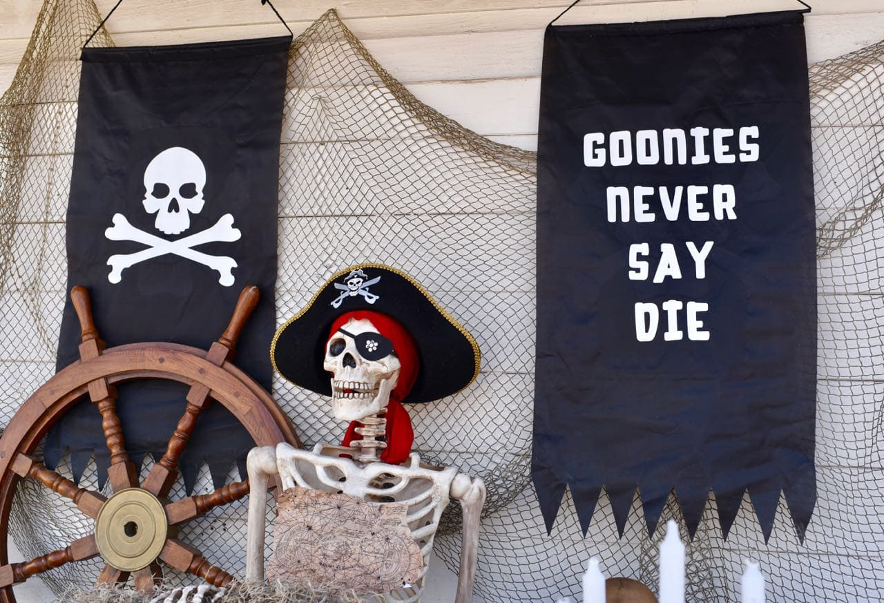 Goonies Halloween Party and Cricut Maker + Oriental Trading Gift