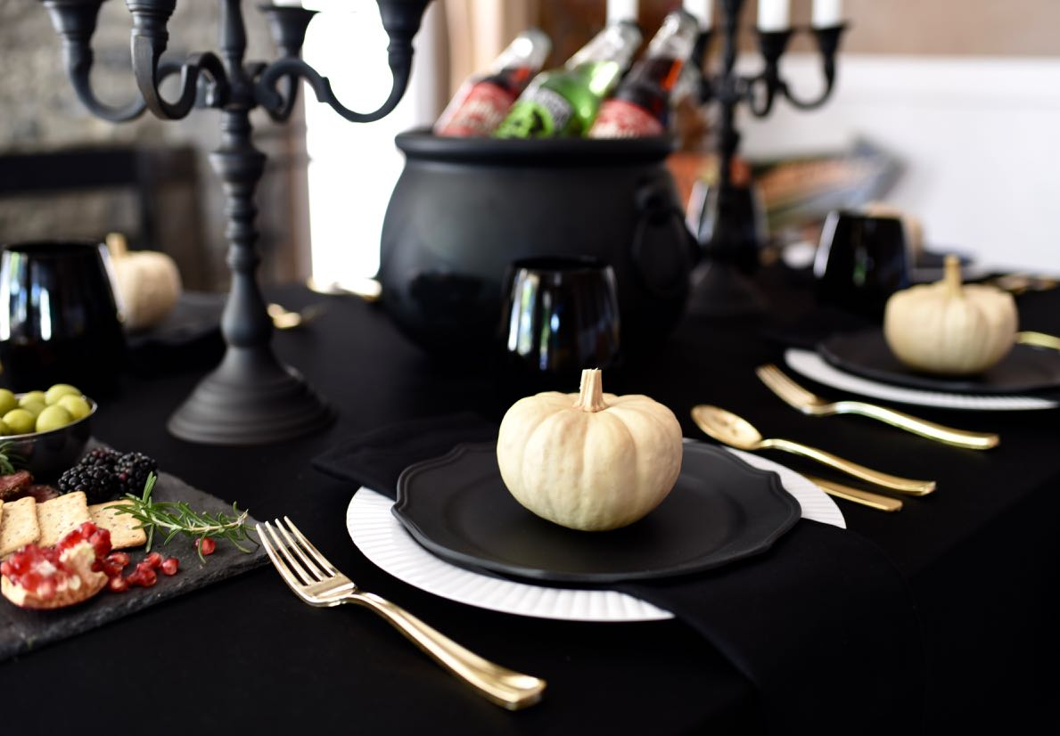 Ghoulishly Gothic Halloween Dinner Party Make Life Lovely