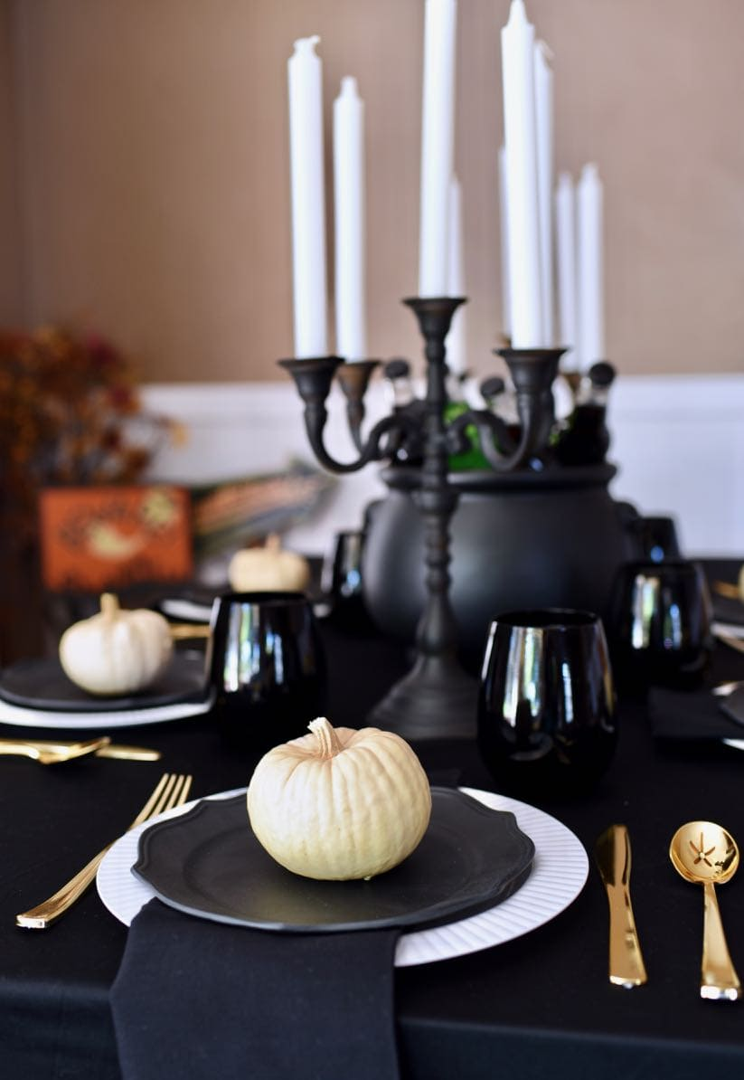Halloween Dinner Party Ideas.Ghoulishly Gothic Halloween Dinner Party Make Life Lovely