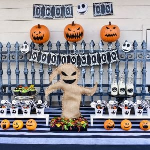 Nightmare Before Christmas Halloween party square 2