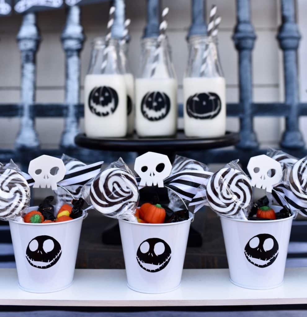 Nightmare Before Christmas party favors