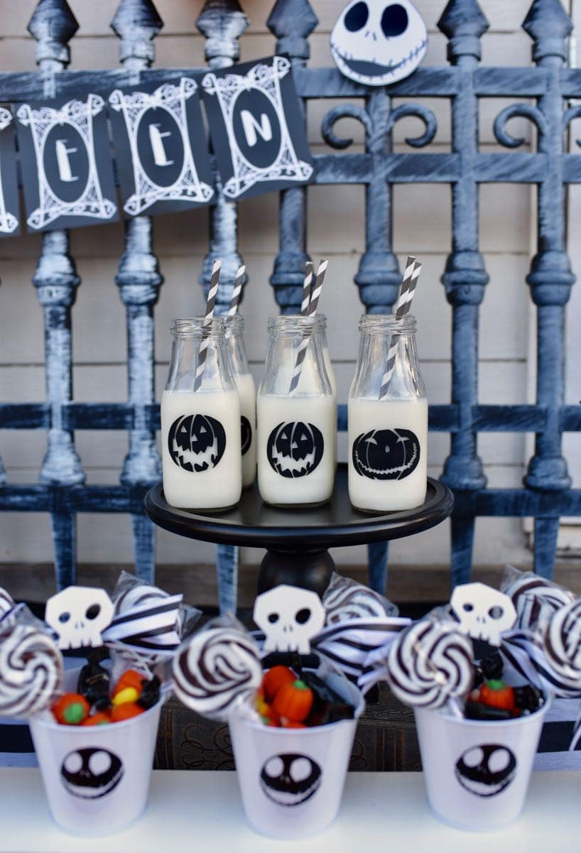 nightmare before christmas party decorations