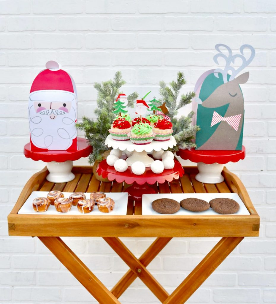 Gingerbread house making party treats-2