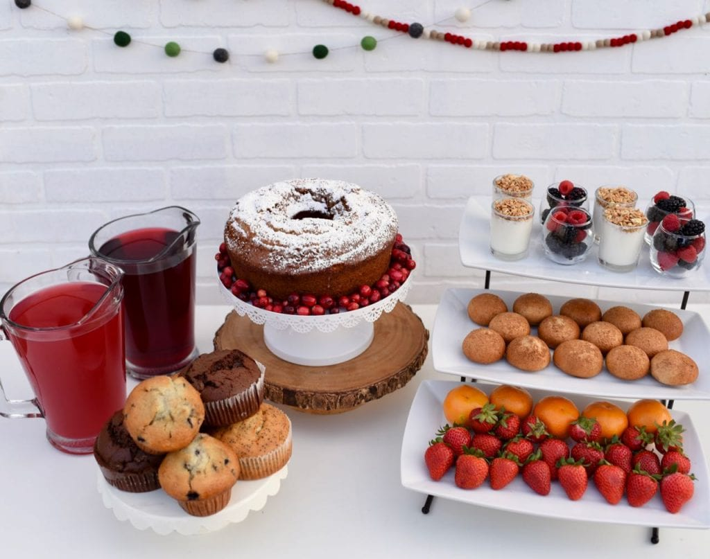 Holiday brunch ideas and Christmas party