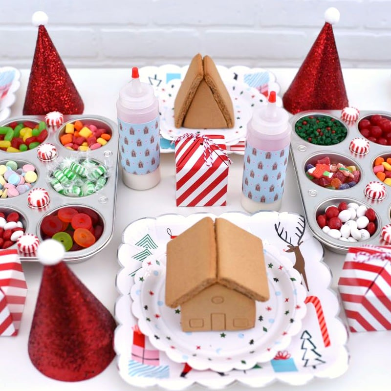Gingerbread House Making Party For A Fun Girls Night Out Make Life