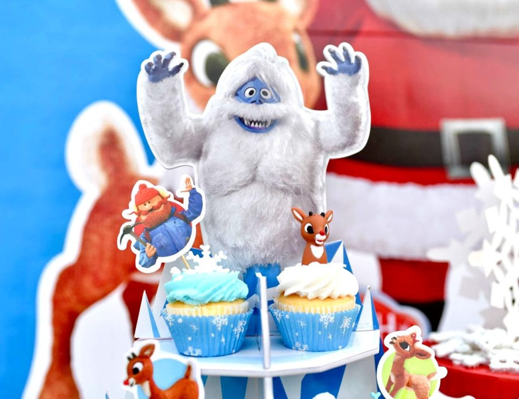 Rudolph the red nosed reindeer snow monster - photo#36