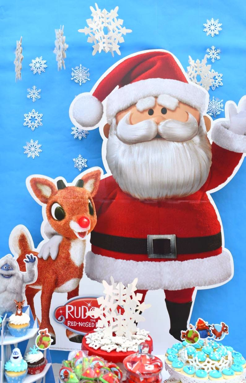 Rudolph Christmas Movie Characters.Rudolph The Red Nosed Reindeer Party Make Life Lovely