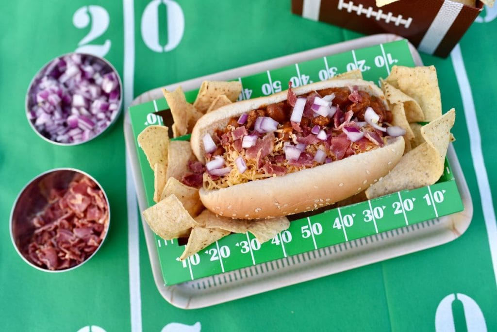 Bacon Chili Cheese Dog Recipe