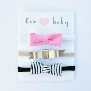 Free Printable Hair Bow Cards for DIY Hair Bows and Headbands