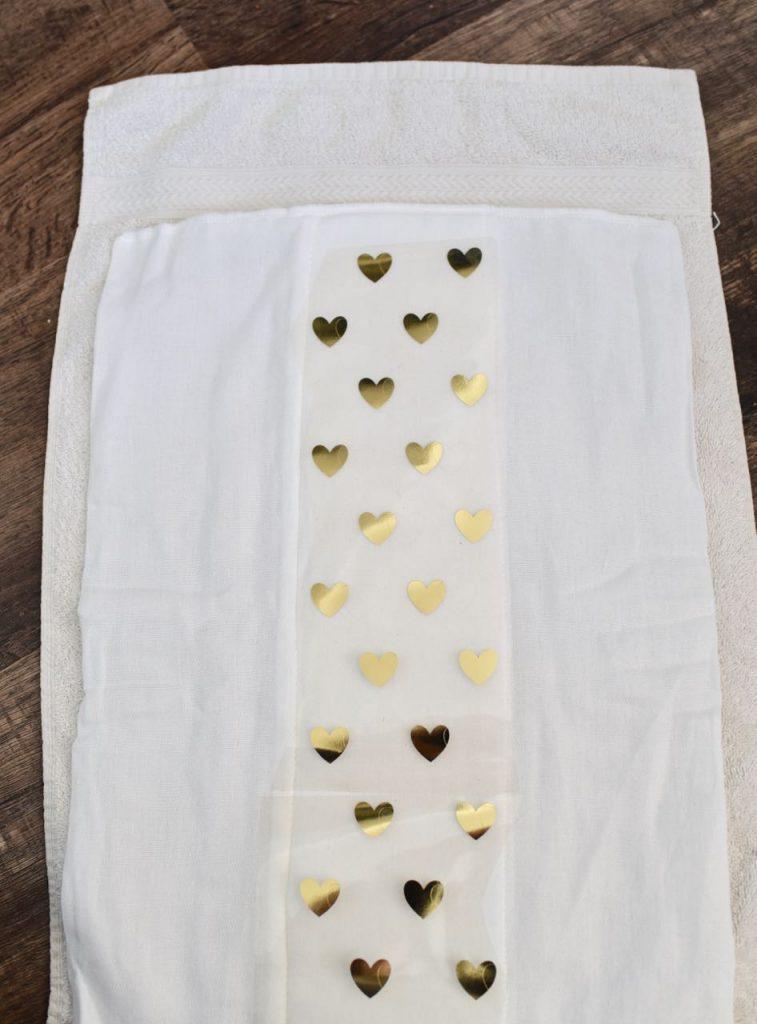 Diy Burp Cloths With Heat Transfer Vinyl Cricut Make