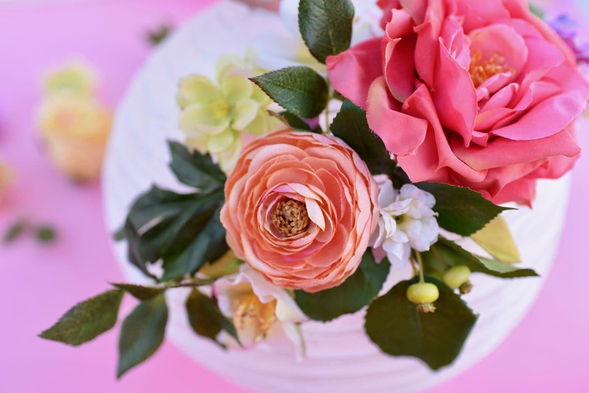 Diy flower paper lanterns tutorial make life lovely diy flower paper lanterns tutorial mightylinksfo