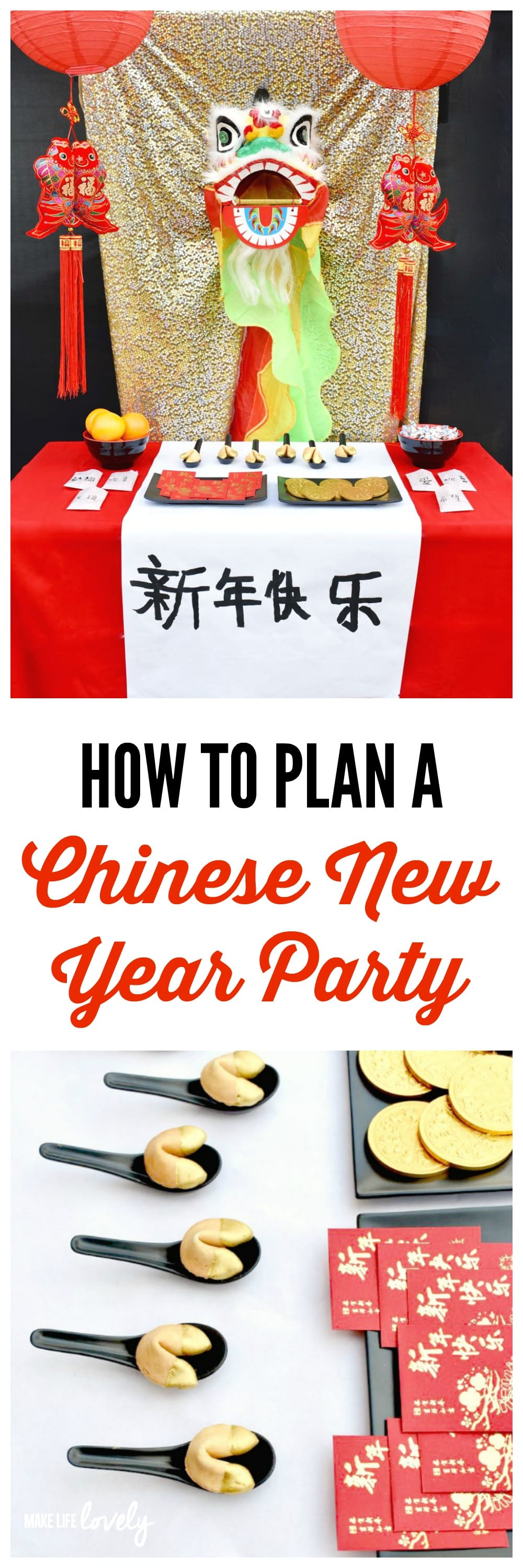 How To Plan A Chinese New Year Party Lots Of