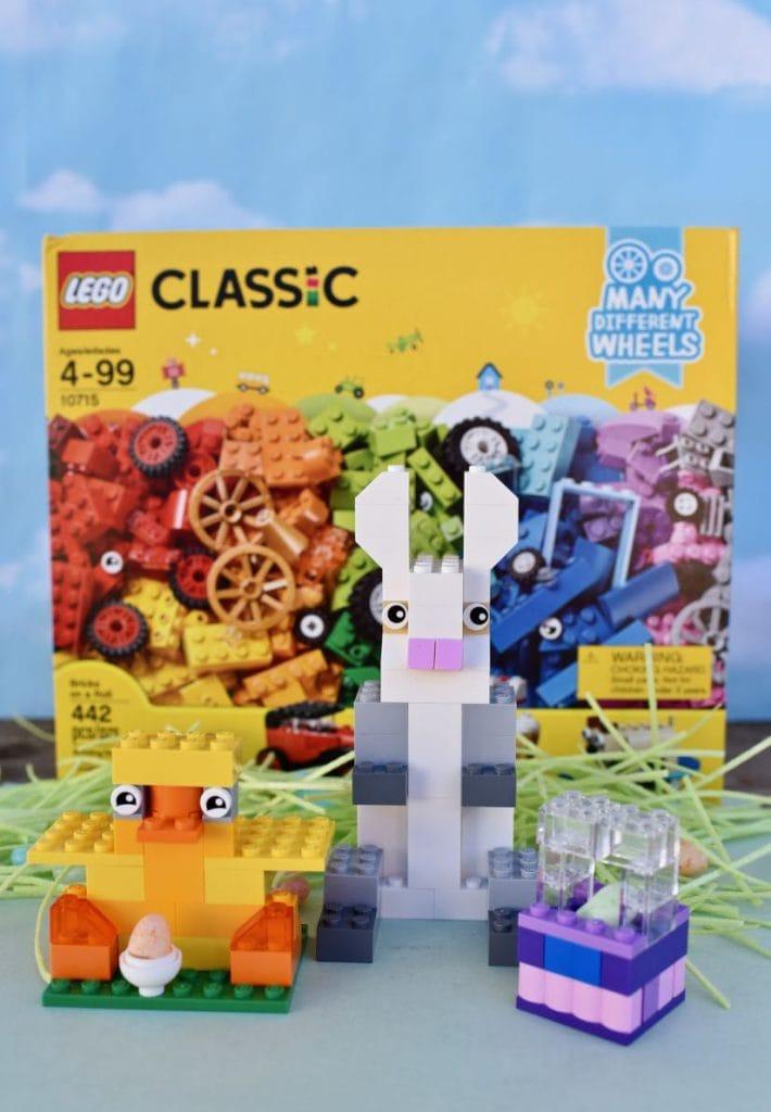DIY LEGO Easter figures instructions