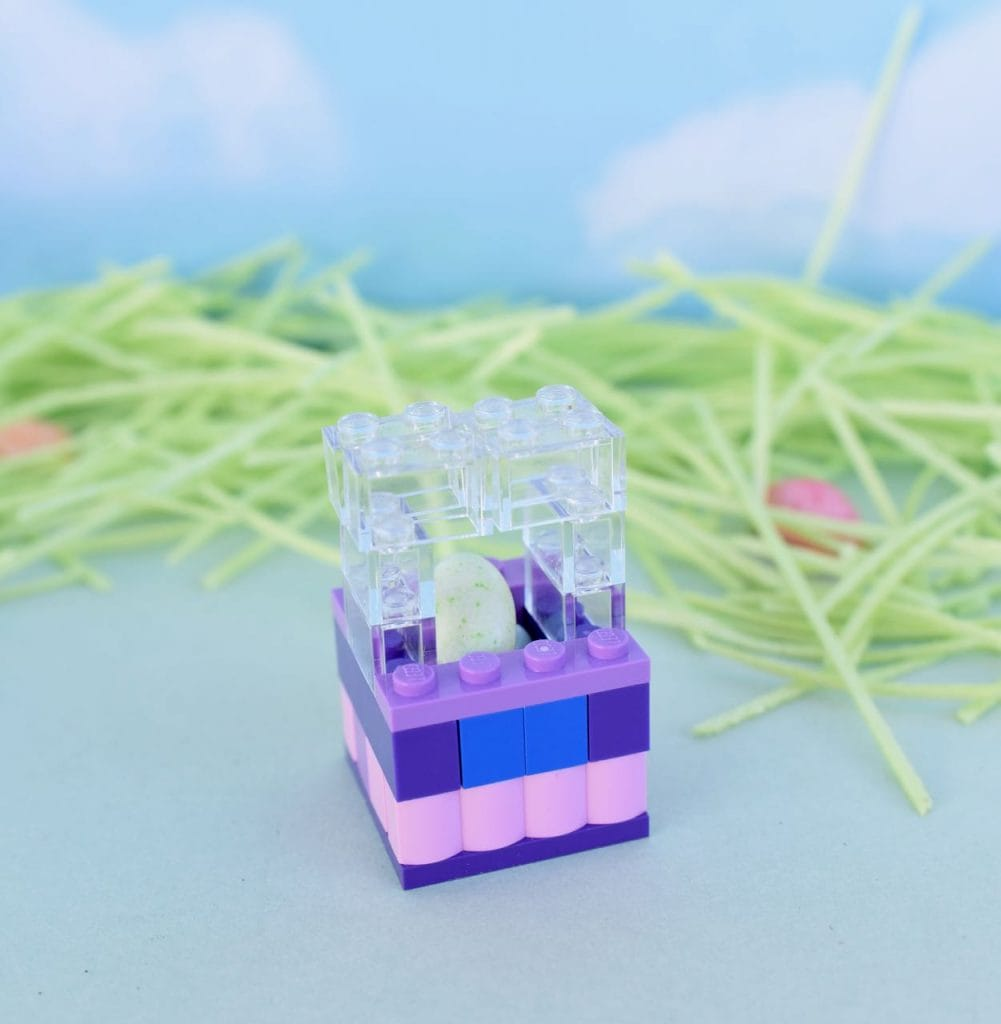 How to make a LEGO Easter basket