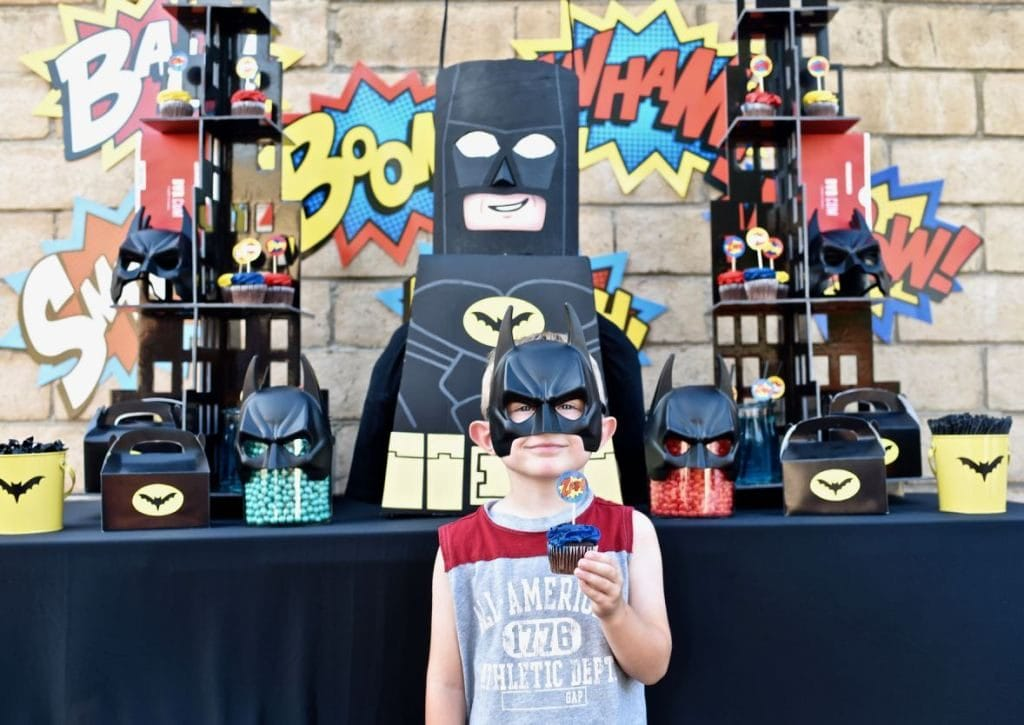 LEGO Batman party ideas for boys
