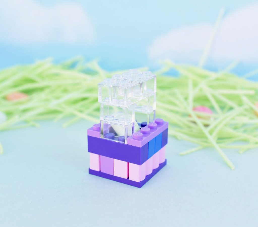 LEGO Easter basket tutorial