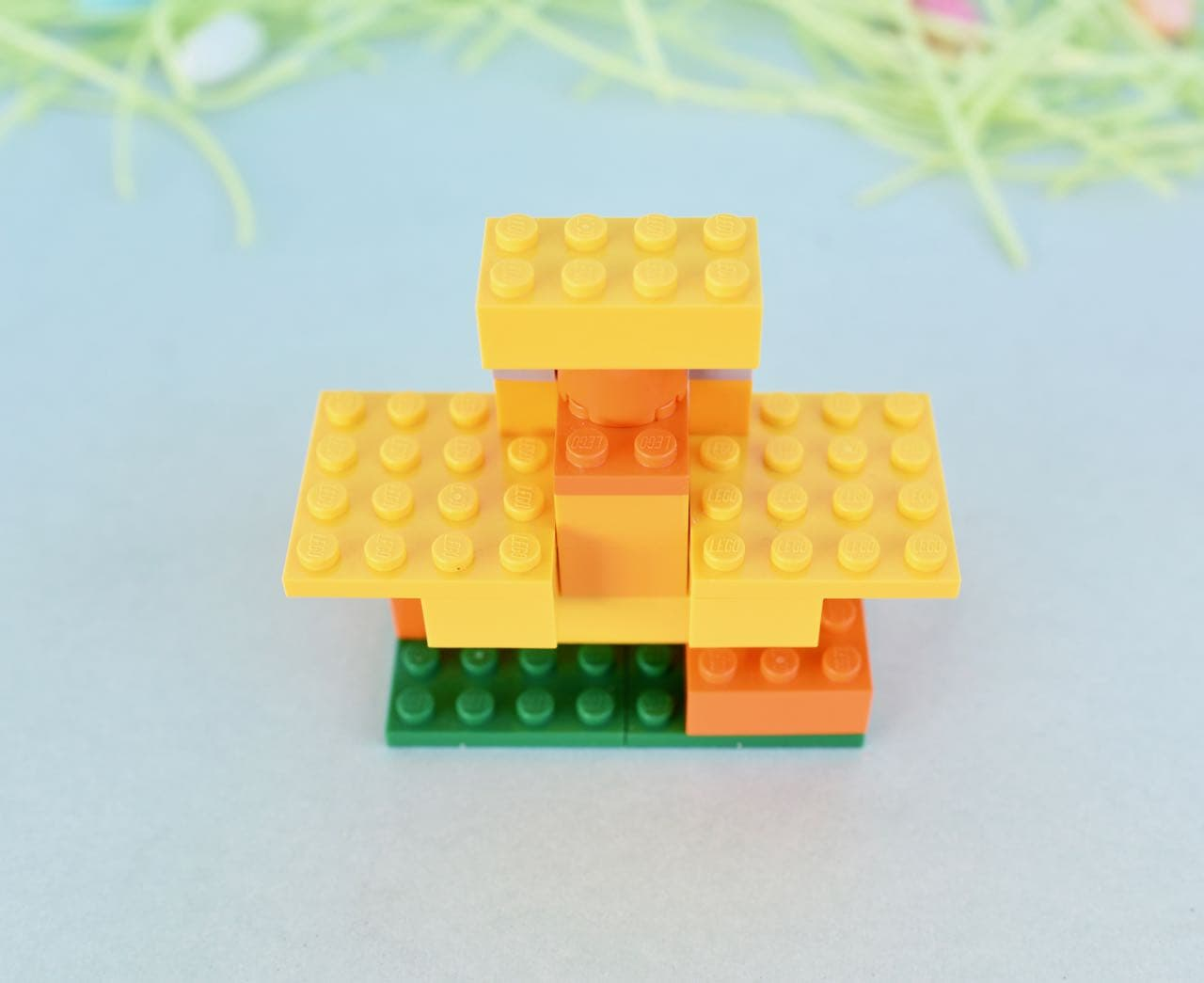 How To Build A Lego Easter Bunny Chick And Easter Basket Make