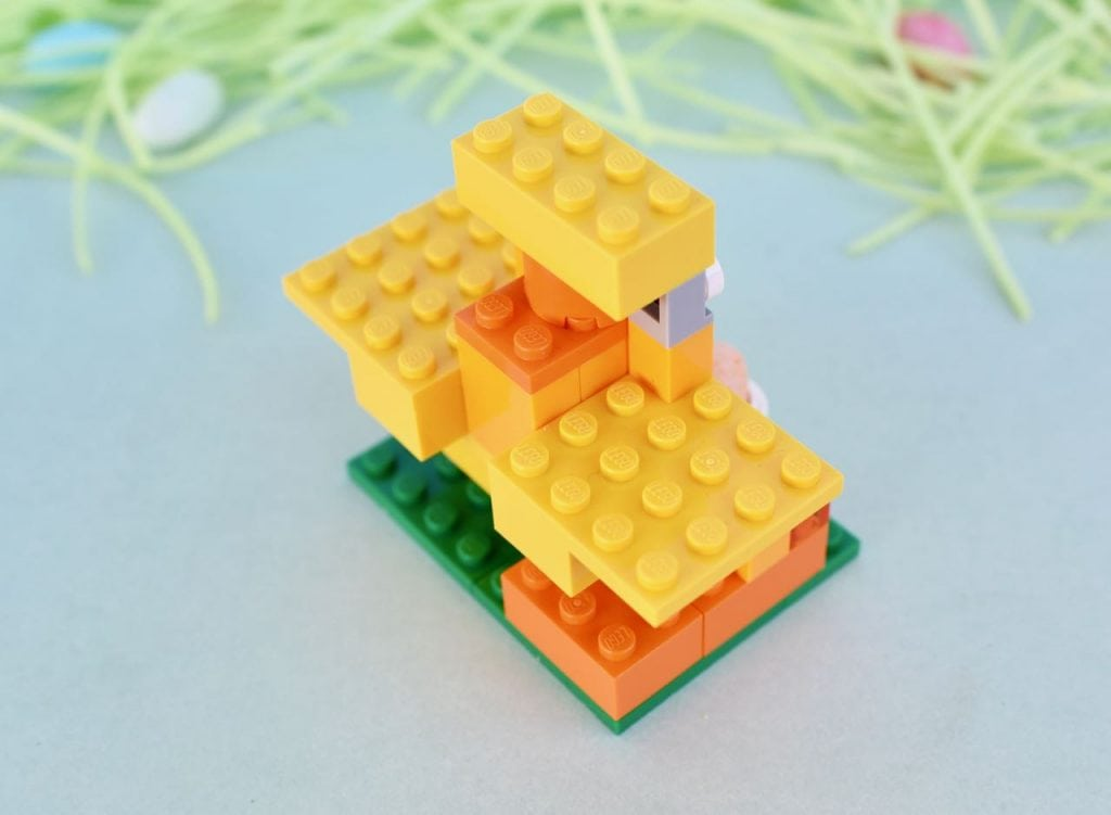LEGO chick instructions