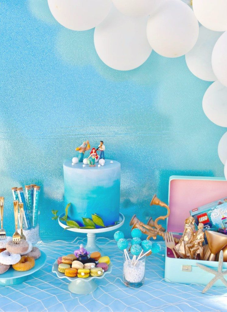Little mermaid party under the sea