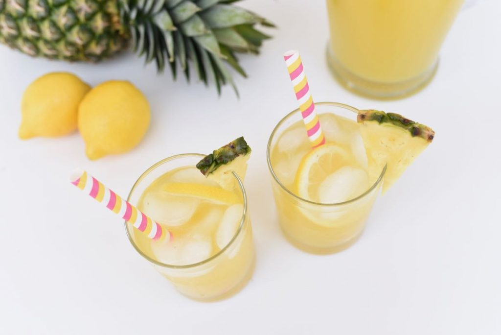 Pineapple lemonade recipe all natural with honey
