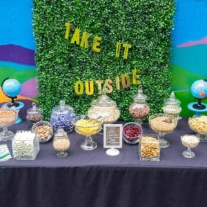 Take It Outside! Trail Mix Bar For Earth Day