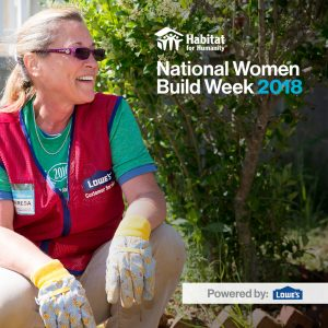 Empowering Women During National Women Build Week