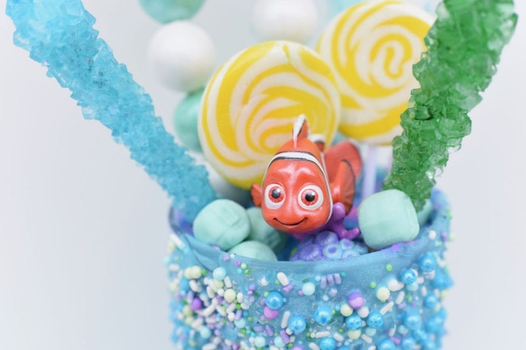 Finding Nemo freakshake recipe