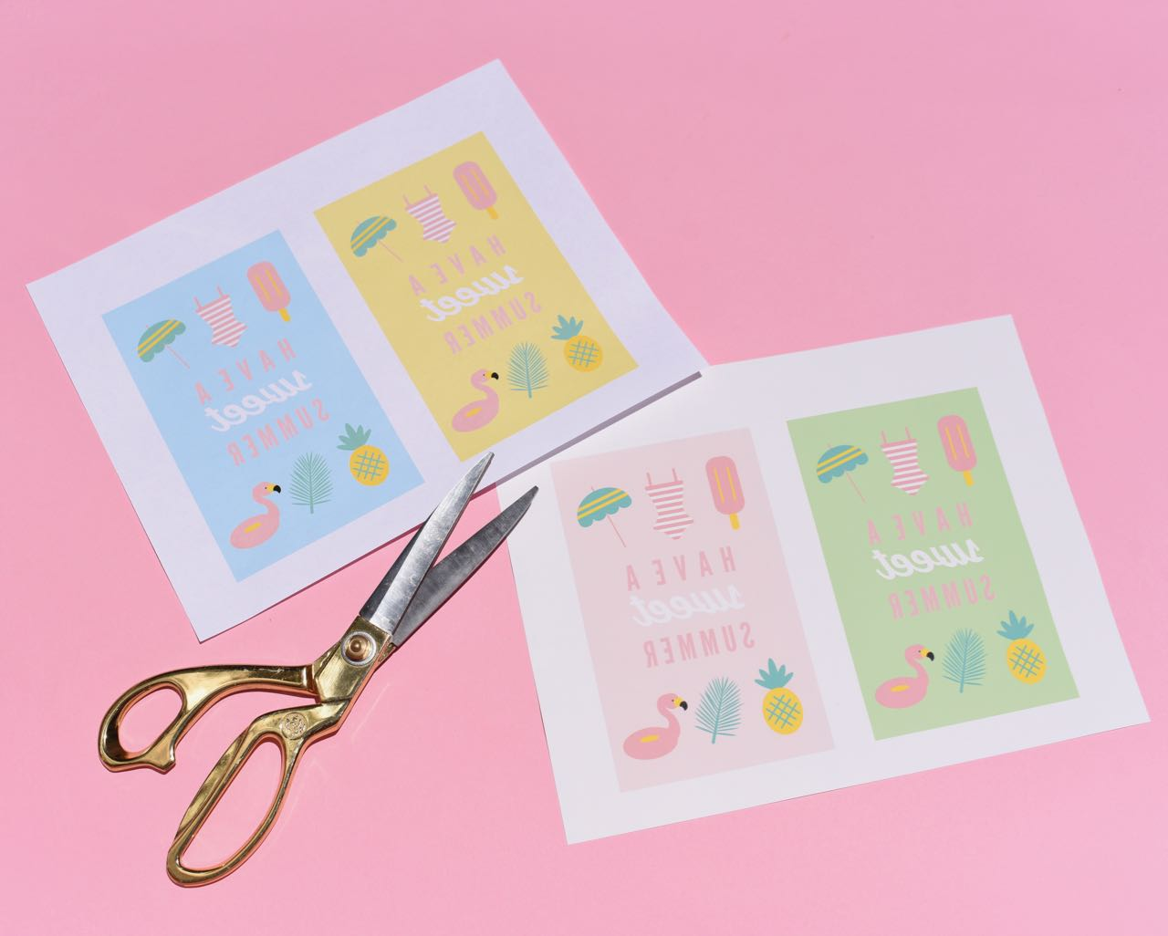 DIY Party Favor Bags + FREE Printables - Make Life Lovely