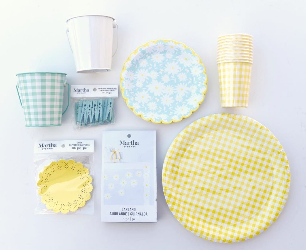 Martha Stewart Meyer Lemon Celebrations party line at Michaels