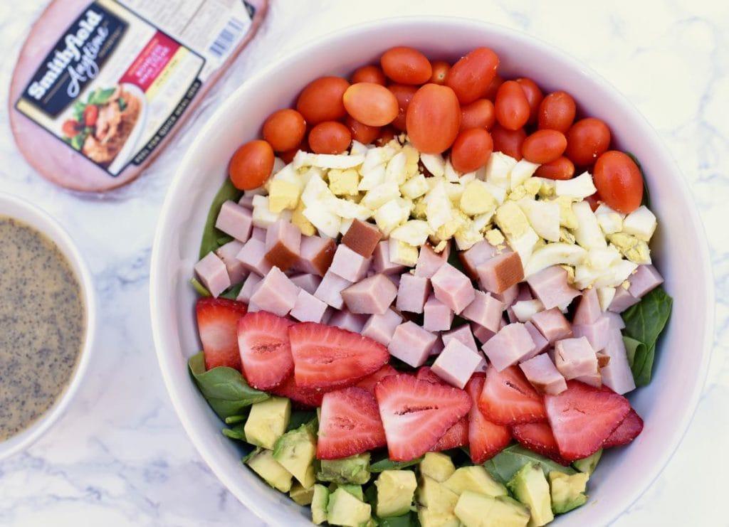 Delicious summer cobb salad recipe