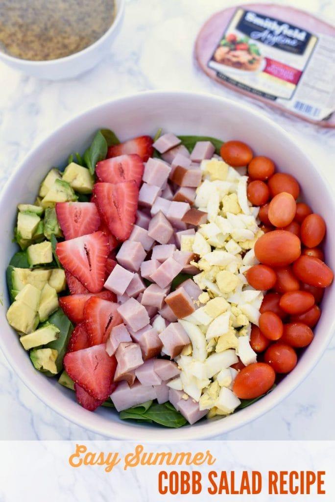 Easy summer cobb salad recipe