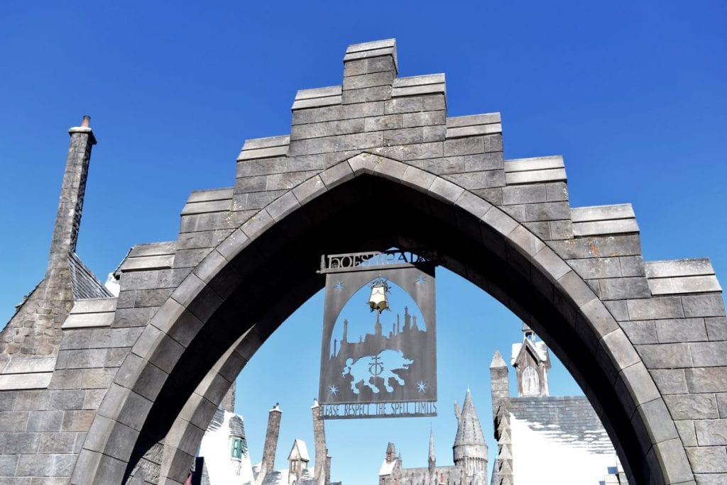 Hogsmeade village Wizarding World of Harry Potter in Top 10 things to do at Universal Studios Hollywood