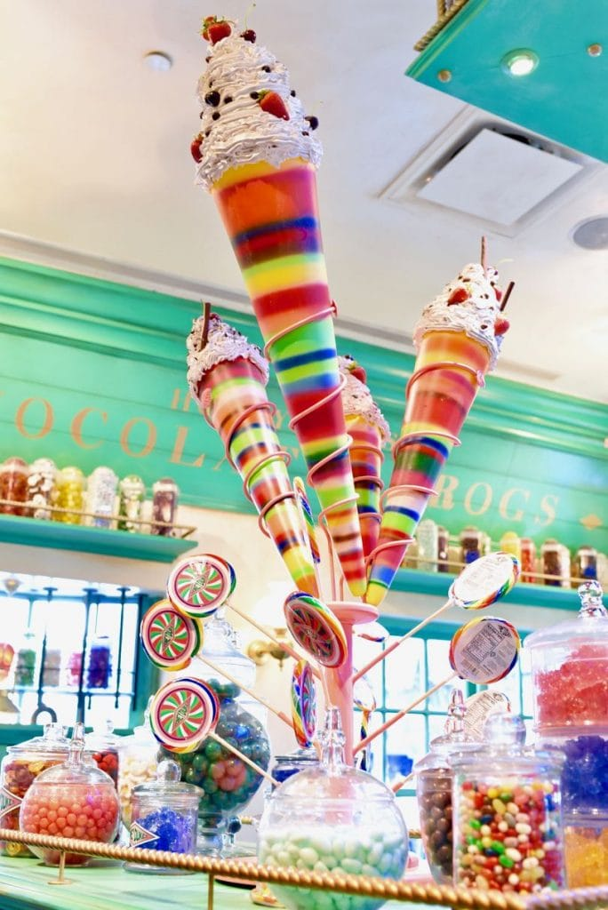 Honeydukes and Top 10 things to do at Universal Studios Hollywood