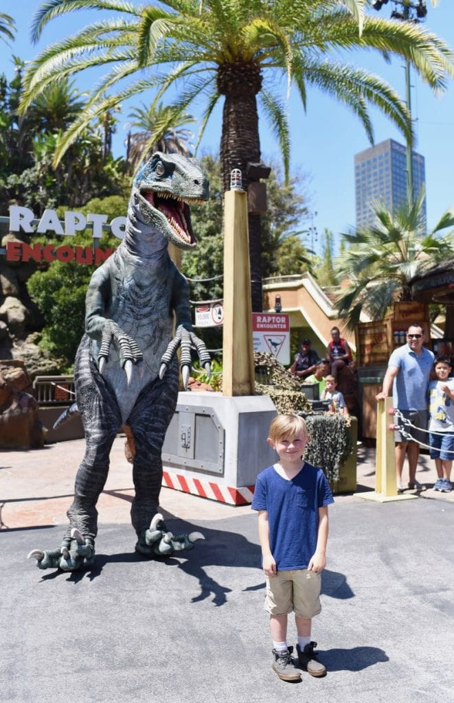 Raptor encounter and Top 10 things to do at Universal Studios Hollywood