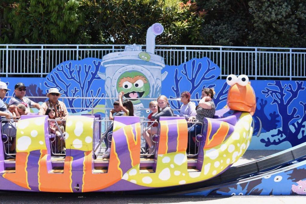 SeaWorld San Diego with kids Sesame Street Bay of Play