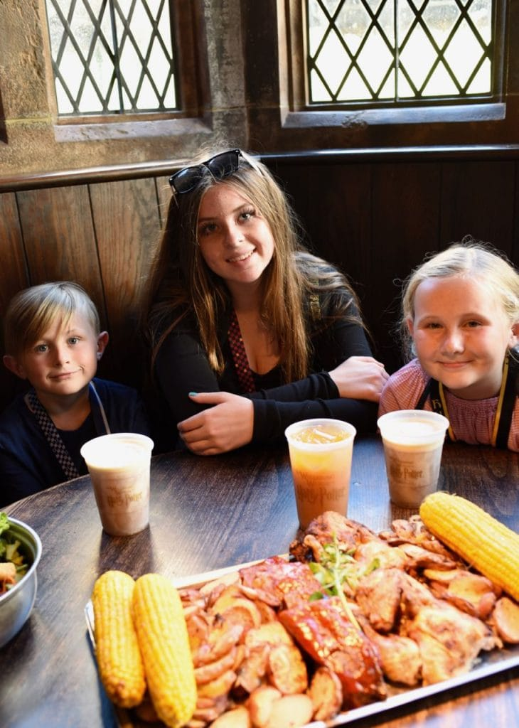 The Great Feast at Three Broomsticks at Universal Studios Hollywood and Top 10 things to do at Universal Studios Hollywood