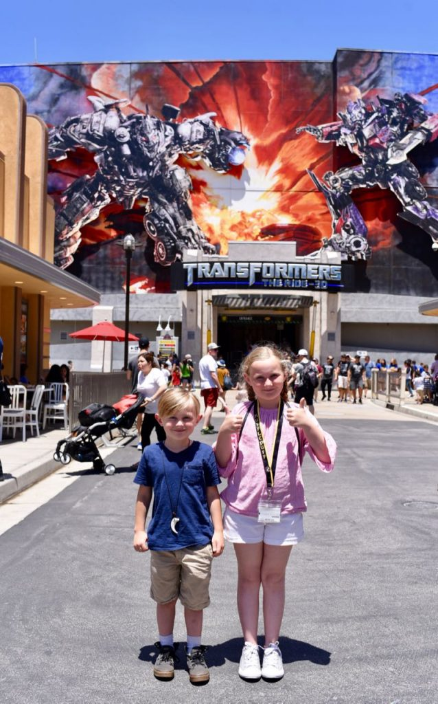Transformers The Ride 3D and Top 10 things to do at Universal Studios Hollywood