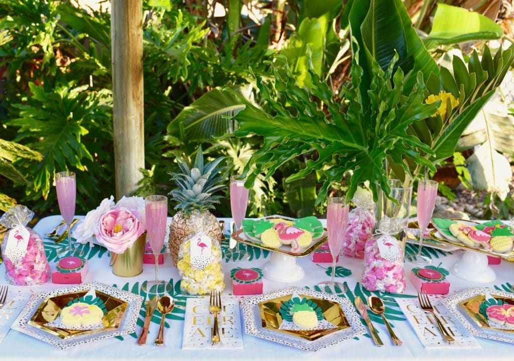 Vibrant Tropical Baby Shower With Cricut Make Life Lovely