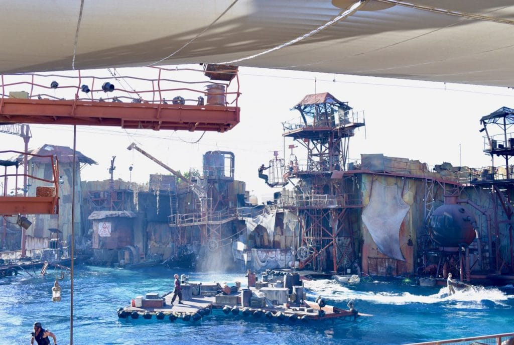 WaterWorld show at Universal Studios and Top 10 things to do at Universal Studios Hollywood