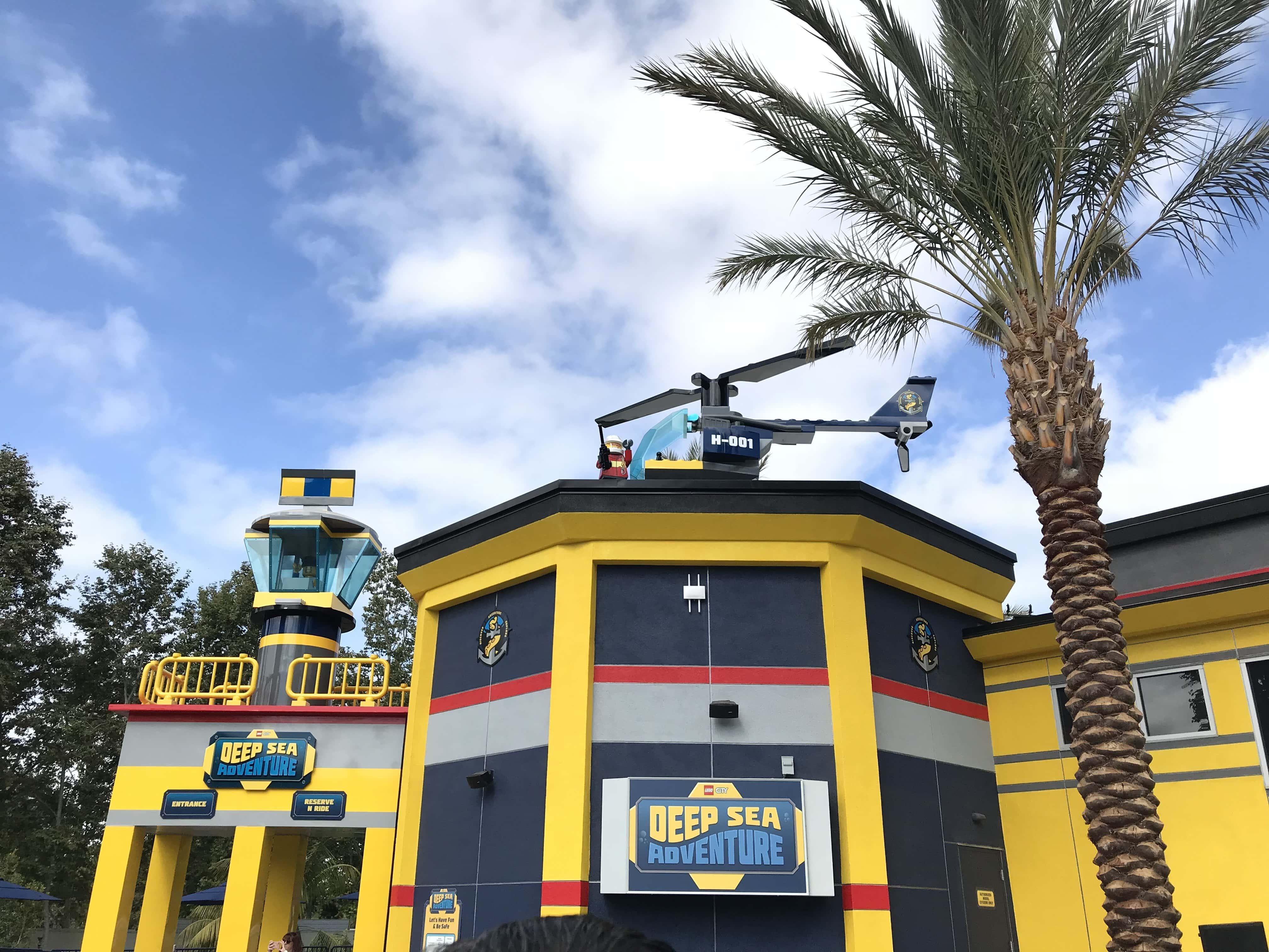 Legoland California Lego City: Deep Sea Adventure Submarine Ride