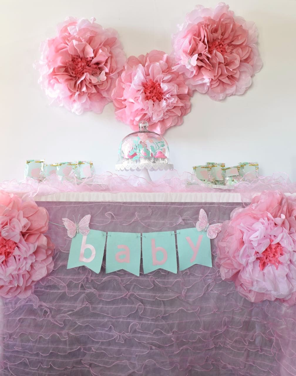 e6a4485c1a6 Girl Baby Shower Ideas + Free Cut Files - Make Life Lovely