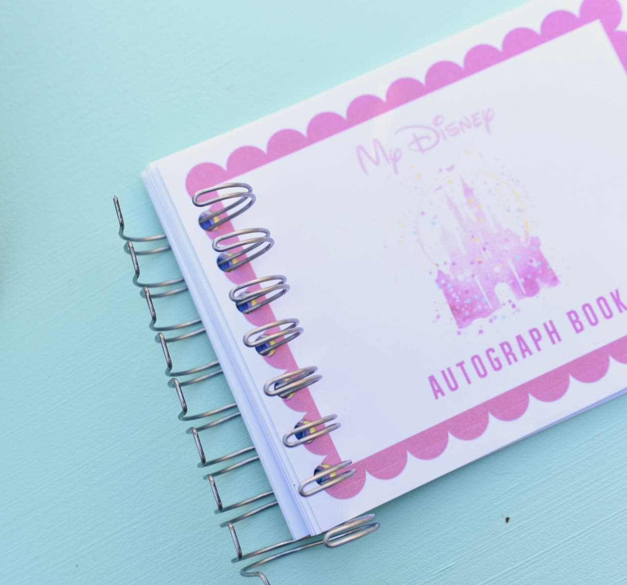 free printable disney autograph book
