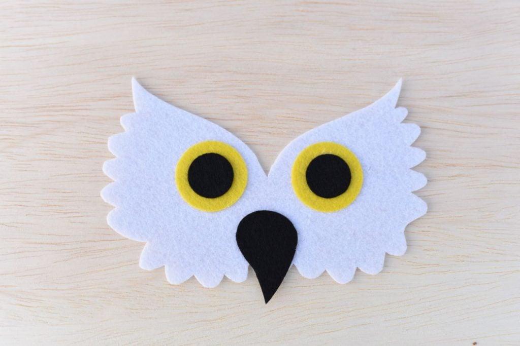 Hedwig costume mask