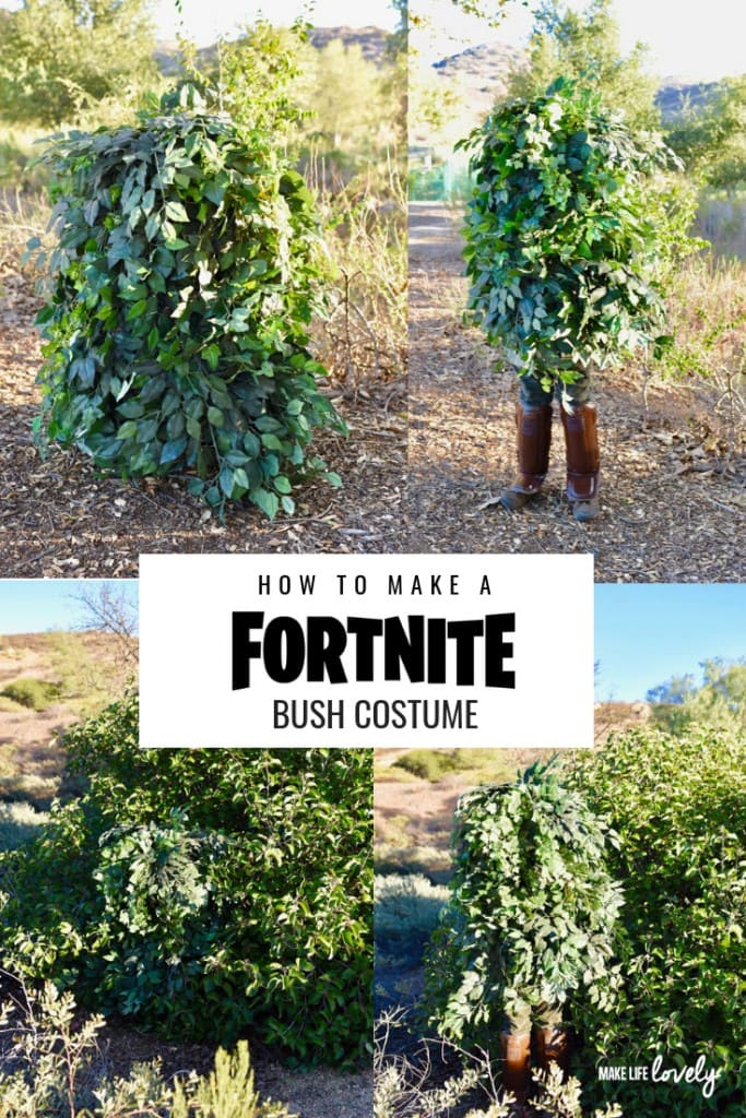 How to make a Fortnight bush costume. Learn how to make a cool Fortnite costume for Halloween, a Fortnite cosplay costume, and more!