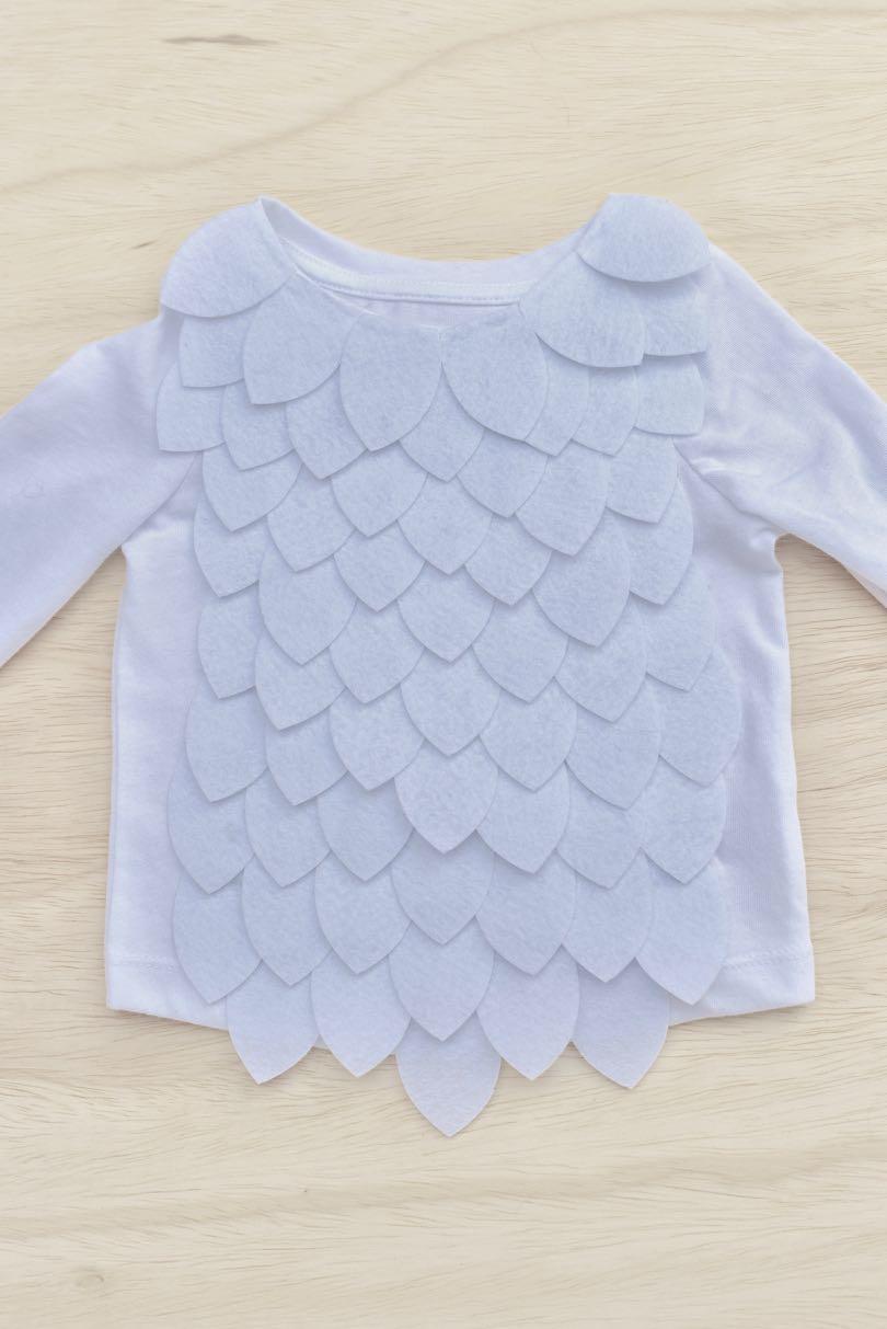 8a5e43e6bf Hedwig Baby Owl Costume DIY {No-Sew} - Make Life Lovely