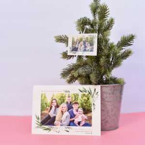 How to Make Genius DIY Photo Ornaments {from Christmas Cards}