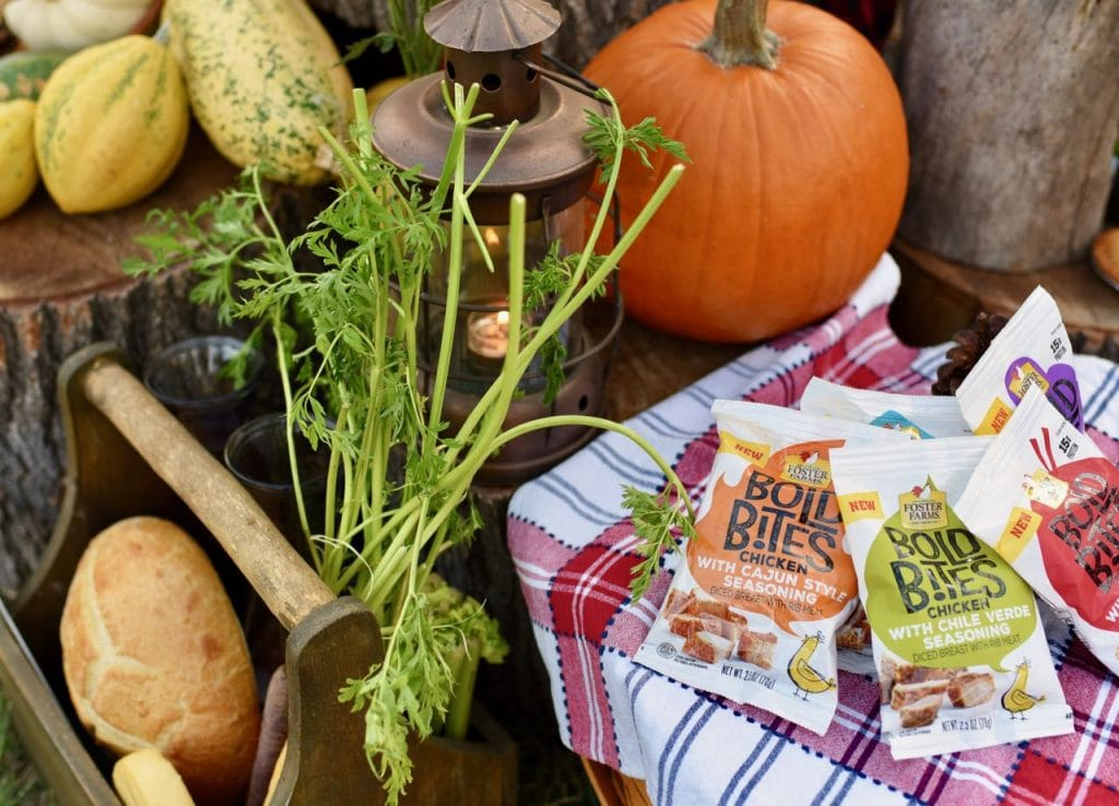 Foster Farms Bold Bites at fall picnic
