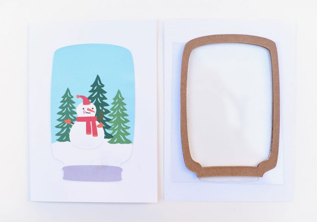 How to make a snow globe card