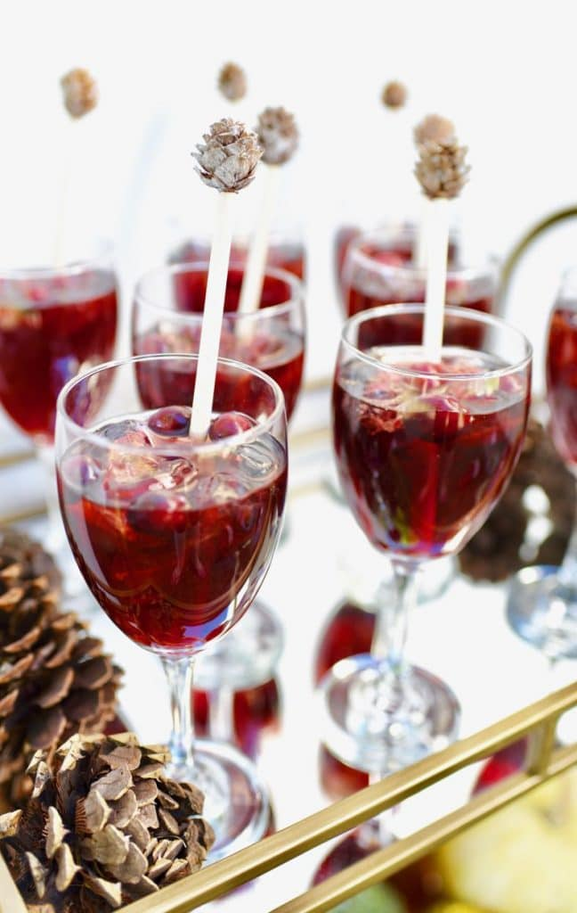 Non alcoholic holiday drink recipe